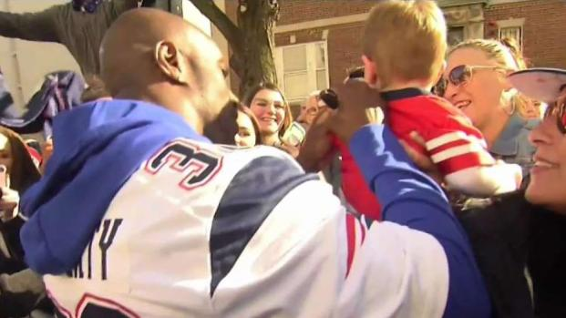 [NECN] Players and Fans Celebrate Super Bowl Win in Boston