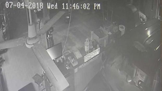 [NECN] Police Searching for Man Who Stole Company Van From Repair Shop