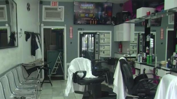 [NECN] Police Seek Suspect in Deadly Barbershop Shooting