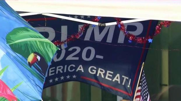 [NECN] Preparations Underway for Trump Rally in NH