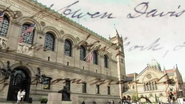 [NECN] Preserving History at the Boston Public Library