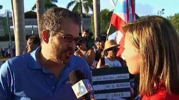 [NATL-MI] Protesters Prepare for Massive March in Puerto Rico