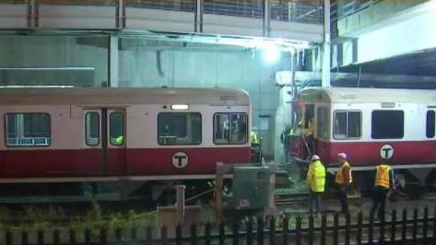 [NECN] Red Line Commuters Still Affected by Derailment