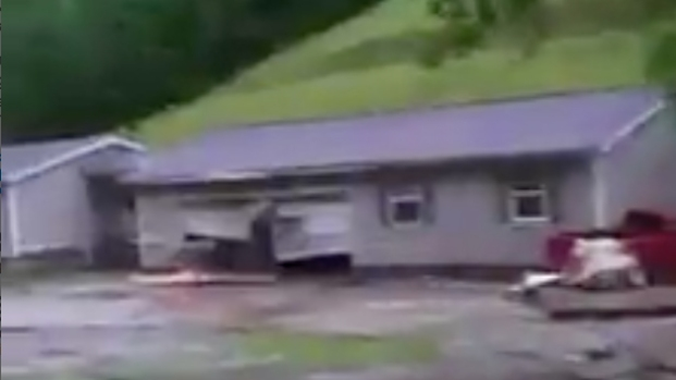 Dangerous Floods Rush Across Communities in West Virginia