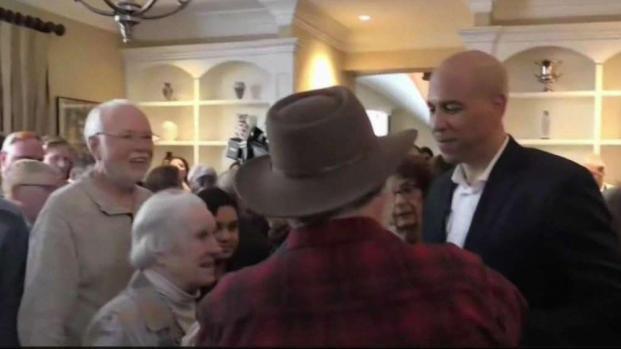 [NECN] Sen. Cory Booker Continues Campaign in New Hampshire