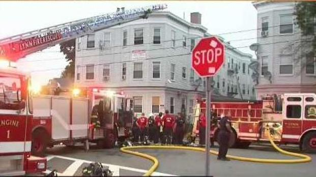 [NECN] Several Residents Rescued During Fire in Lynn