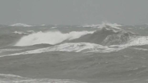 [NECN] Mass. Shoreline Battered by Nor'easter