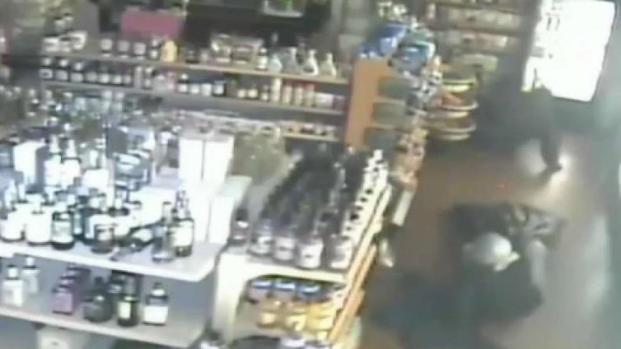 [NECN] Southboro Police Seek Suspects in Liquor Store Burglary