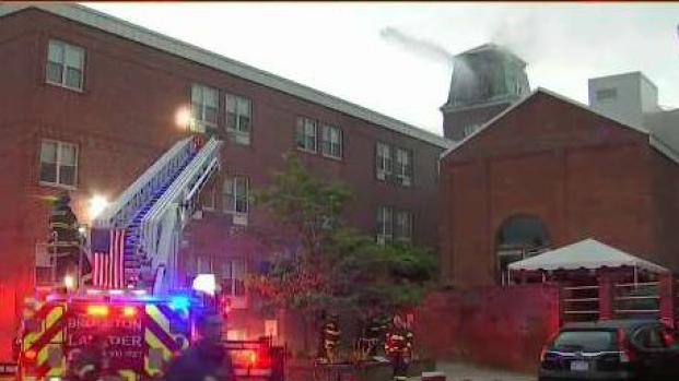 [NECN] Stoughton 3-Alarm Fire Believed to Be Sparked by Lightning
