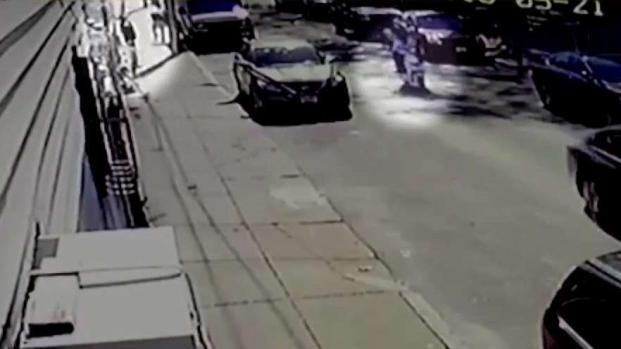 [NECN] Surveillance Video Captures Dorchester Shooting