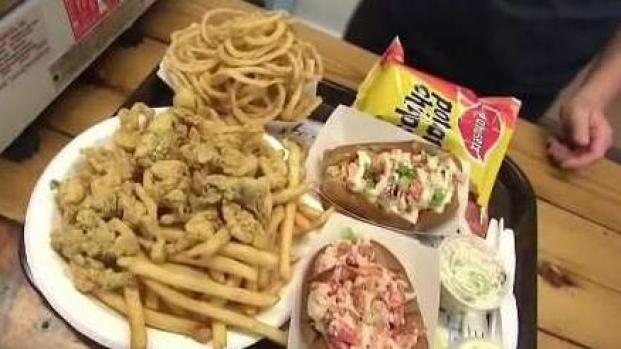 [NECN] Tasty Seafood on Plum Island