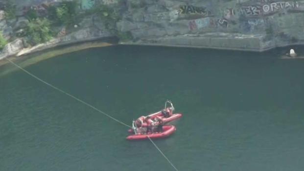 [NECN] Teen Boy Drowns While Swimming in Westford Quarry