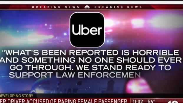 [NECN] Uber Driver Accused of Raping Passenger