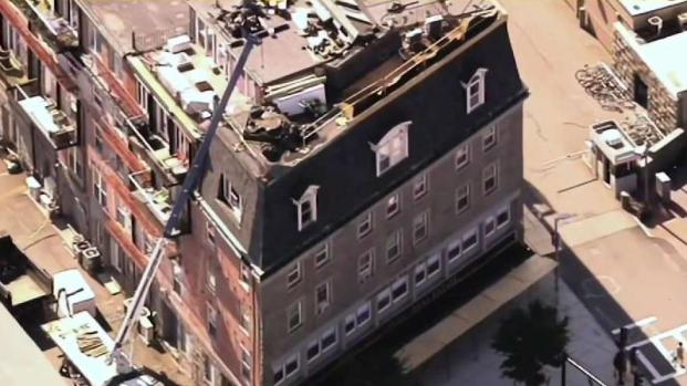 [NECN] Violations After Woman Injured by Debris in Boston