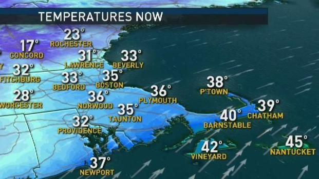[NECN] Weather Forecast: Warmer Temps Arrive for Rest of Weekend