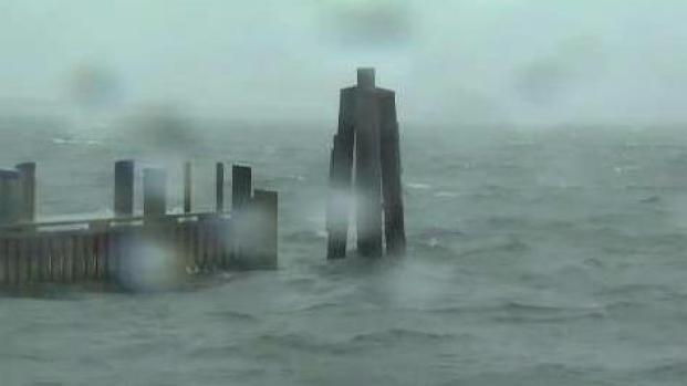 [NECN] Jose Brings Rough Seas to Nantucket