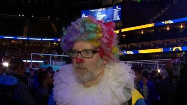 [NECN] Weird and Wacky From Super Bowl Opening Night