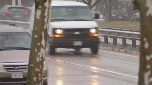 [NECN] Wet Conditions Make for a Difficult Commute in MetroWest