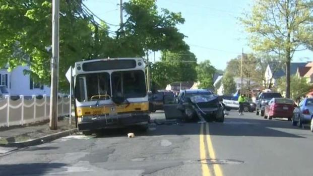 Driver Who Slammed Into MBTA Bus in Saugus Dies - NECN