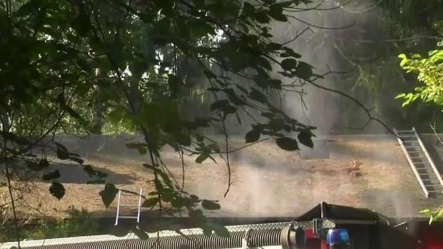[NECN] Woman Suffers Burns From Fire in Weston