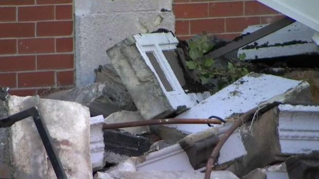 [NECN] Woman Seriously Injured in Allston Building Collapse