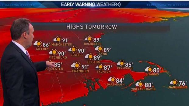 [NECN] Your Sunday Night Forecast
