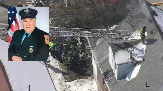 [NECN] 21-Year Veteran Watertown Firefighter Killed in Blaze