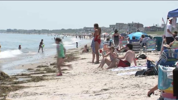 [NECN] Humarock Beach Reopens After Years of Closure