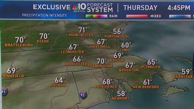 [NECN] Improvements Coming in Weather for New England