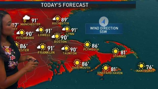 [NECN] Weather Forecast: Hot & Humid Sunday