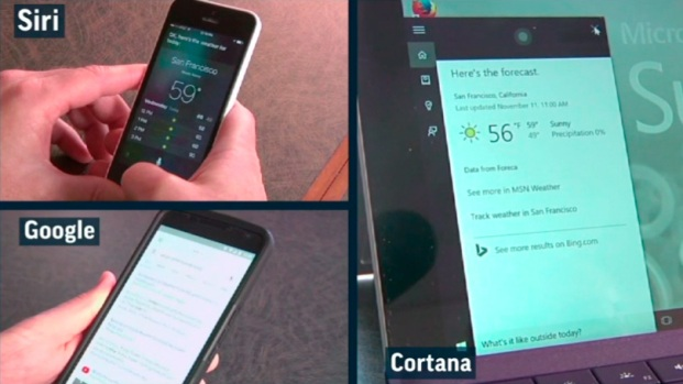 Siri vs. Cortana vs. 'OK Google': Who's Better?