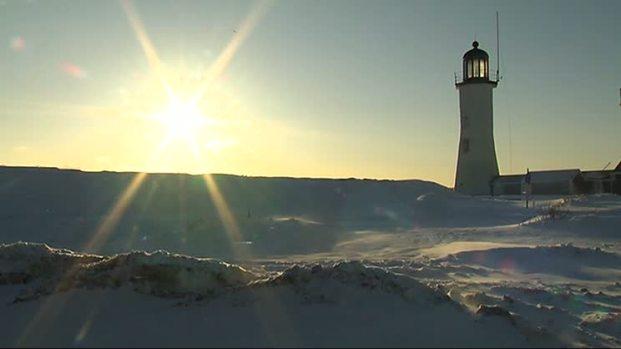[NECN] Mass. Coastal Communities Bracing for Weekend Blizzard