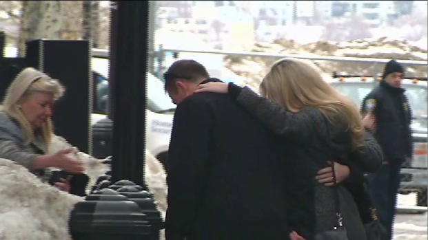 VIDEO: Bombing Survivors Arrive at Courthouse