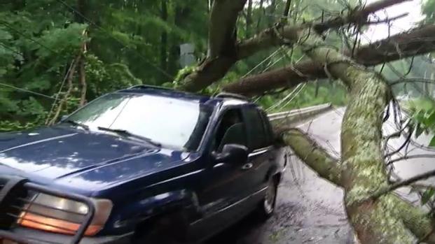 [NECN] NWS Surveying Storm Damage in New England