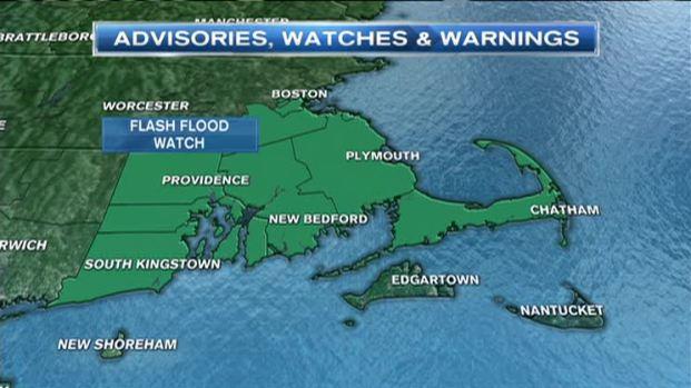 [NECN] Weather Forecast: Flash Flood Watch