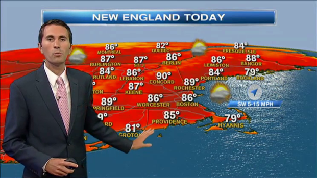 [NECN] Weather Forecast: Perfect Beach Weather
