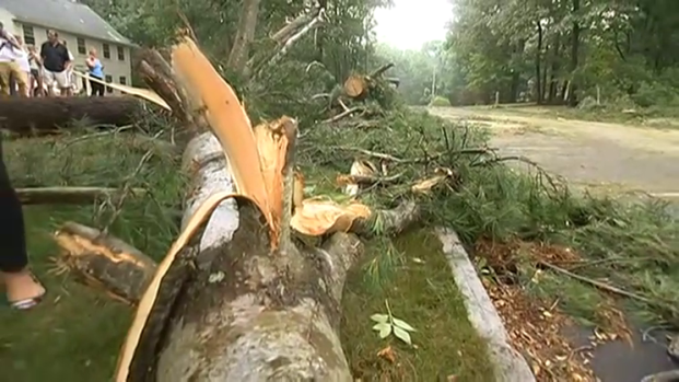 [NECN] New Hampshire Hit With Severe Weather