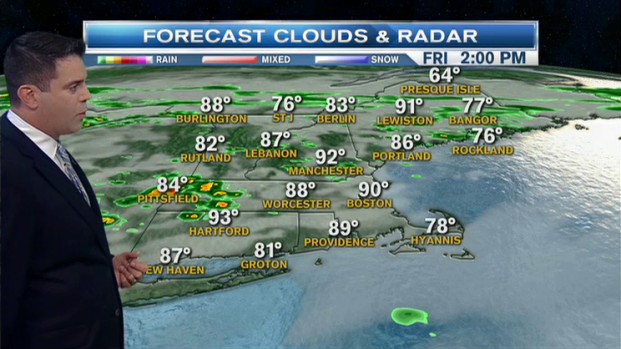 [NECN] Weather Forecast: Brutal Heat, Thunder