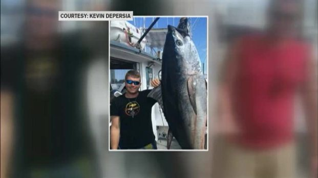 [NECN] Fish Tale: Shark Steals Part of Tuna Catch