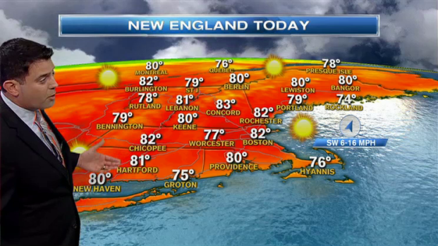 [NECN] Weather Forecast: Bright Sun