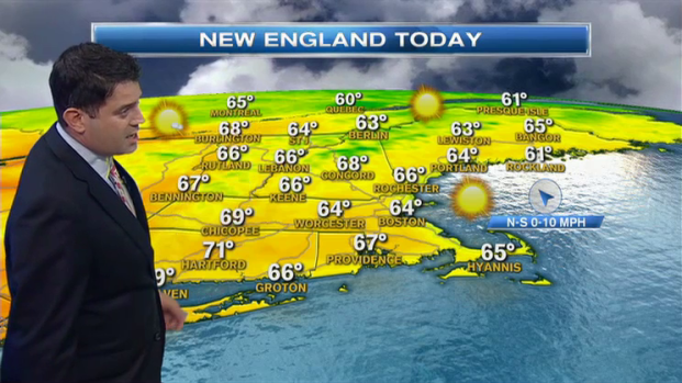 [NECN] Weather Forecast: Sunny Fall Monday