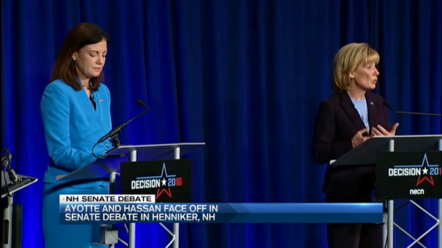Ayotte, Hassan Face Off In NH Senate Debate