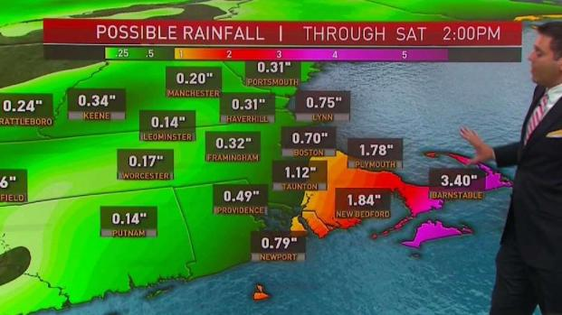 [NECN] Cape Cod, Islands Under Tropical Storm Warning