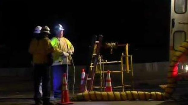 [NECN] 2 Manhole Explosions Shut Down Power in Brockton