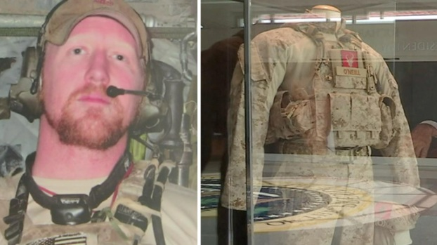 [NATL-LA] Uniform of Navy SEAL Who Shot Bin Laden Goes on Display in SoCal