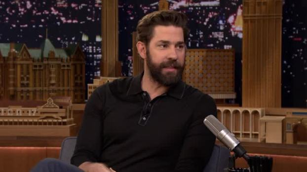 'Tonight': Customs Agent Shocked by Krasinski's Wife