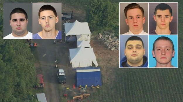 Timeline: Search for Remains of Young Men in Bucks County