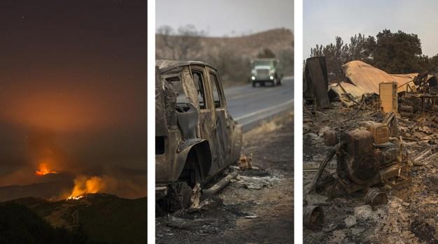 [NATL-la gallery] Photos: Wildfire Scorches Thousands of Acres in Santa Barbara County