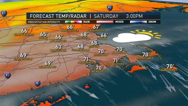 Sunny, Mild Today Before Temps Dip Tonight