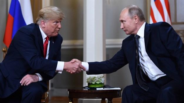 Trump, Putin Meeting 1-on-1 Amid Investigations, Tension